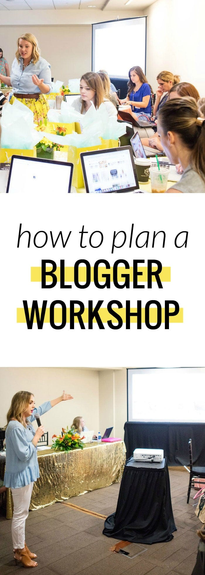 How to plan a blogger workshop - Have something you want to teach to local bloggers? Create your own blogger workshop! This goes over getting a venue, sponsors, and how to pull off a successful event!