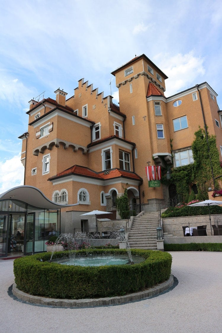 The Hotel Schloss Monchstein in Sazlburg, Austria is one of the most memorable hotel experiences of my life!