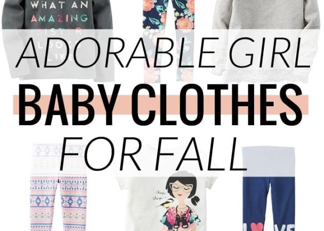 Carter's Adorable Baby Girl Clothes for Fall