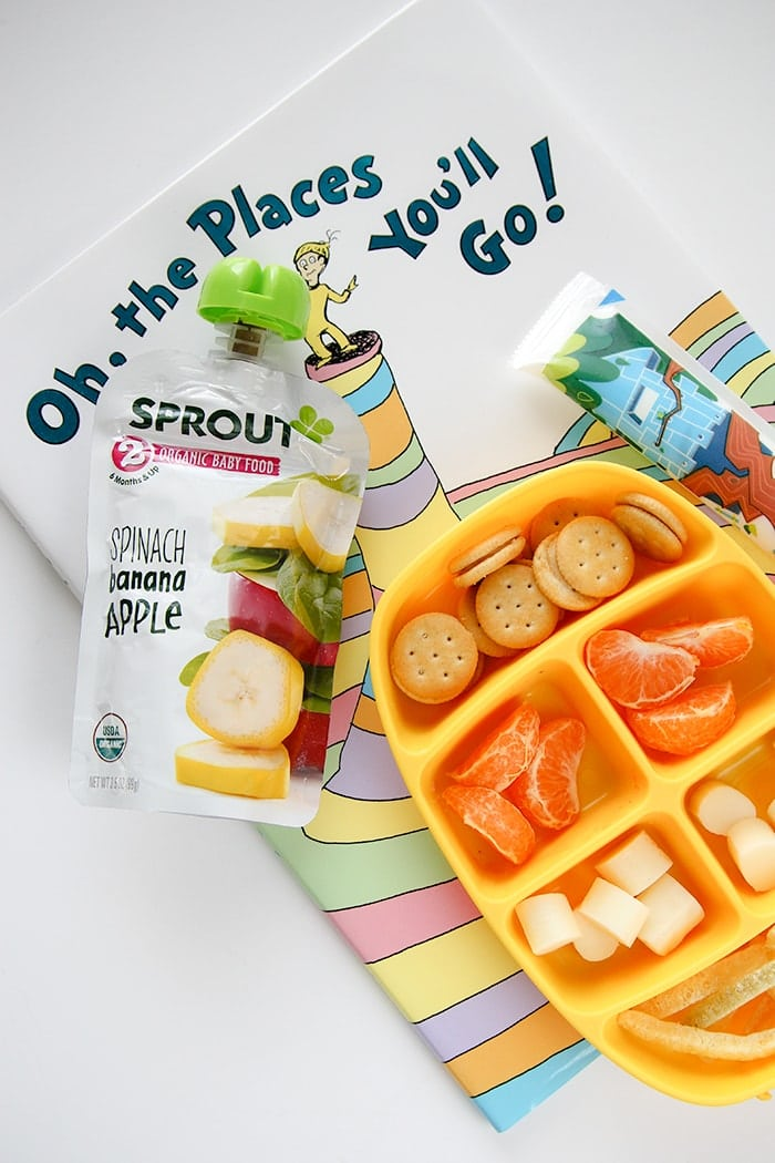 ideas to pack in a 2-year-old's school lunch box