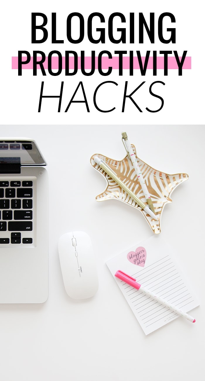 These productivity hacks make blogging so much easier. Get more done in less time!