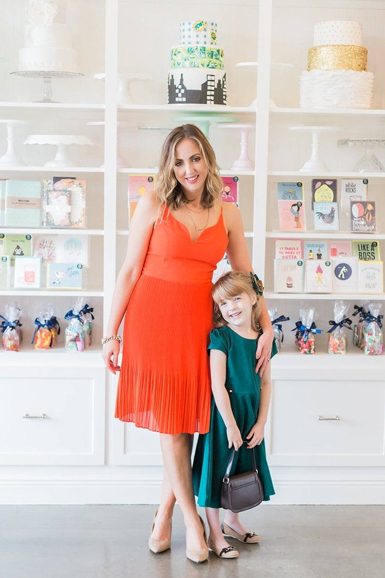 Mommy and me dresses to wear to an event or wedding... great for fall!