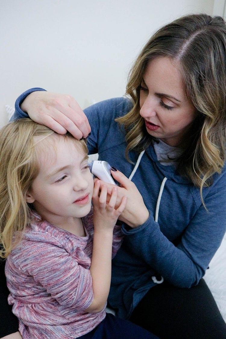 Preparing for flu season using the Braun thermometers