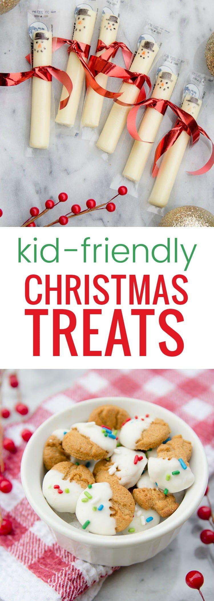 Kid-friendly Christmas treats - so easy and yummy #HorizonOrganic #ad @HorizonOrganic