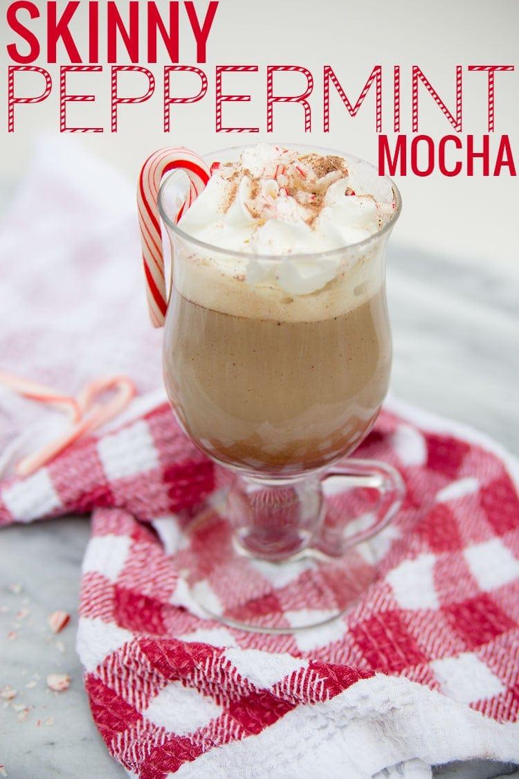 Ninja Coffee Bar Recipe: Skinny Peppermint Mocha by Meg O. on the Go