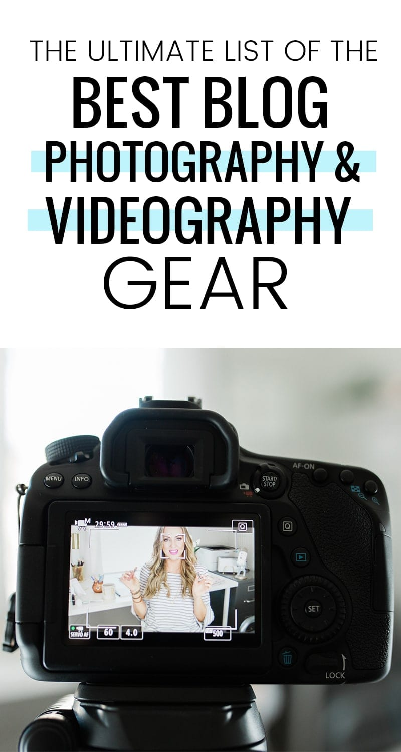 The Ultimate List of the Best Blog Photography & Videography Gear by Meg O.