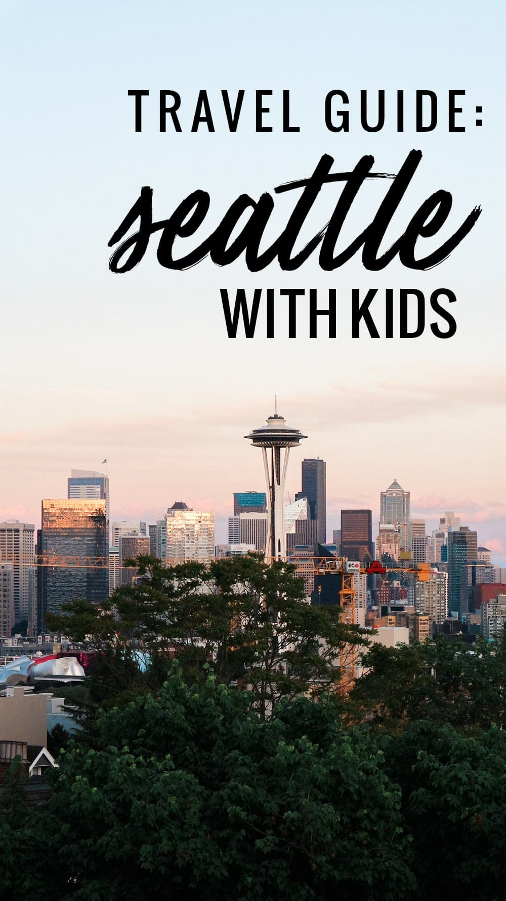 Seattle Travel Guide: Seattle with Kids by popular lifestyle blogger Meg O. on the Go