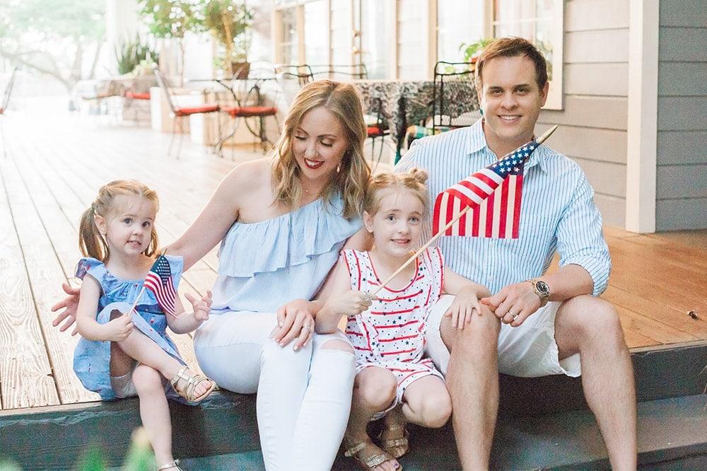 4th of July Family photo shoot