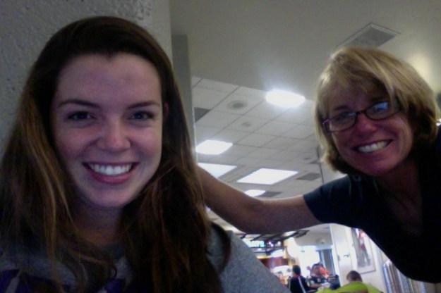 Momma and I