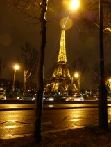 The Eiffel Tower at Night 1