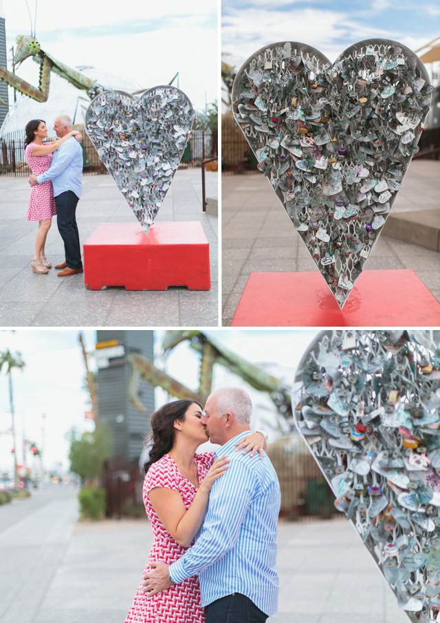 Container Park Engagement Las Vegas by Meg Ruth Photo