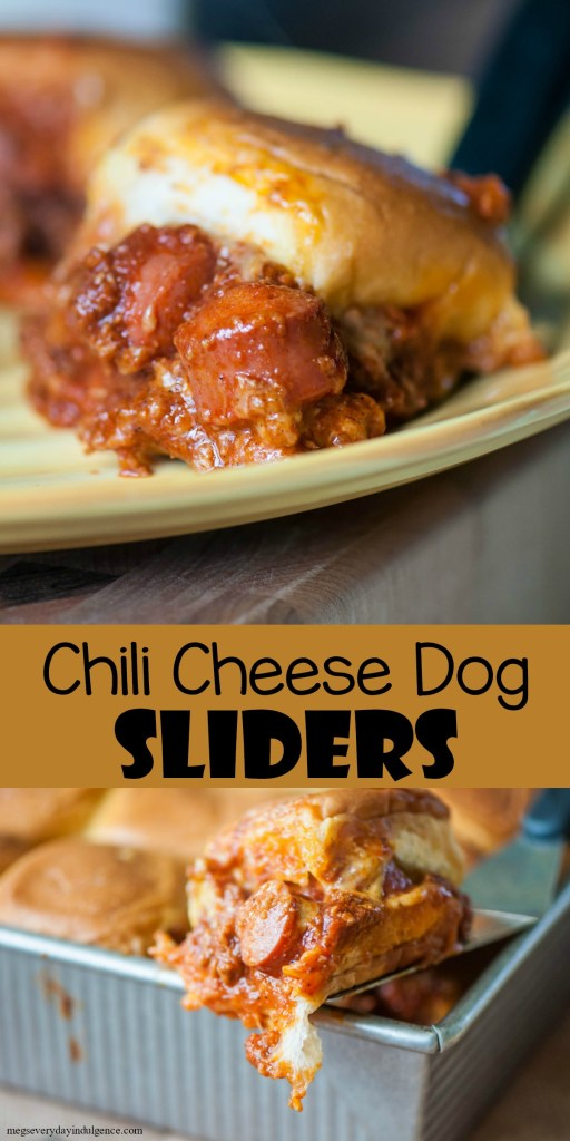 Chili Cheese Dog Sliders