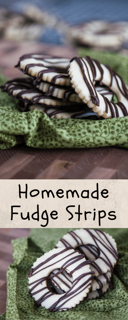 Homemade Fudge Stripes