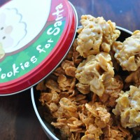 Butterscotch or Peanut Butter Cornflake Cookies {12 Weeks of Christmas Cookies}