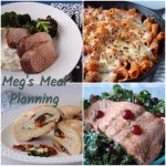 Meal plan for week of April 2nd