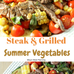 Steak with Grilled Summer Vegetables