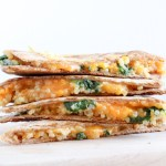 Vegetarian, Cheesy Quesadilla