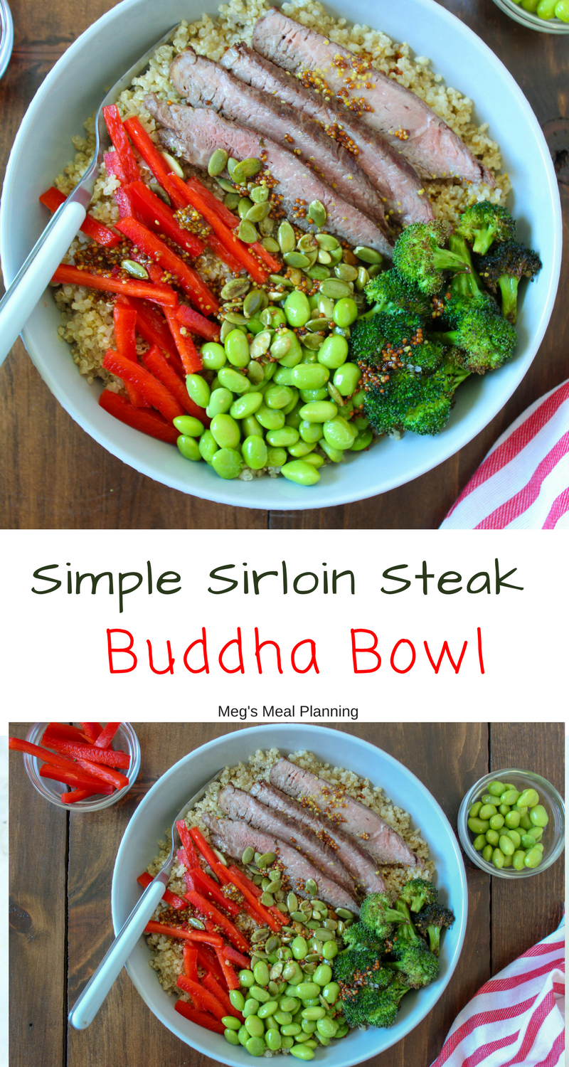 sirloin steak buddha bowl