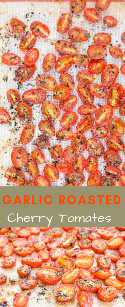roasted garlic cherry tomatoes