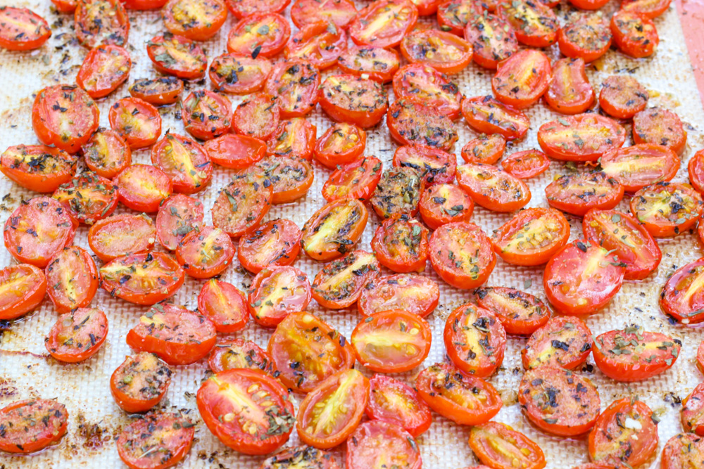 garlic roasted tomatoes