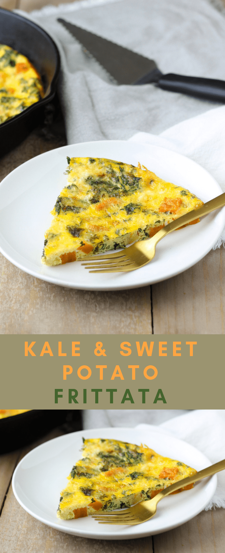 Frittata with kale