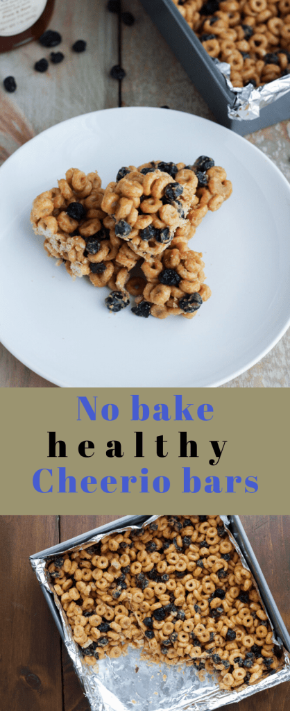3 ingredient no bake cheerio bars