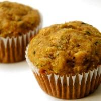 Vanilla Zucchini Muffins