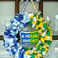 A House Divided Wreath