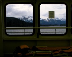 On the ferry, Alaska. 2008.