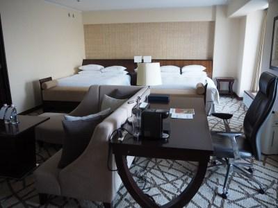 シェラトン都ホテル大阪のロイヤルスイートにアップグレード!