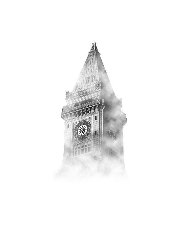 foggy clocktower by osman-rana