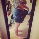 The shorts I was wearing last summer, May 2016