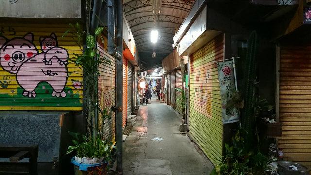 栄町商店街 シャッター