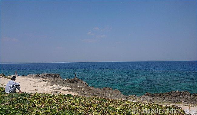久高島カベール岬からのオーシャンビュー