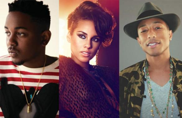 kendrick-lamar-alicia-keys-pharrell-williams