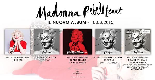 Madonna-Rebel-Heart-Versioni