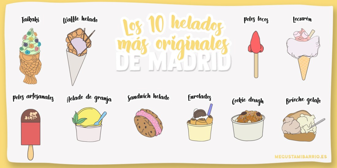 Helados originales Madrid