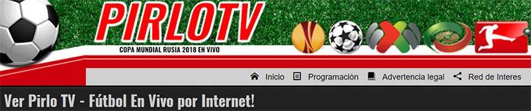 PirloTV ¡Fútbol en vivo por Internet!