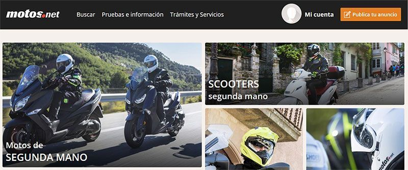 MOTOS.NET, las mejores motos de segunda mano