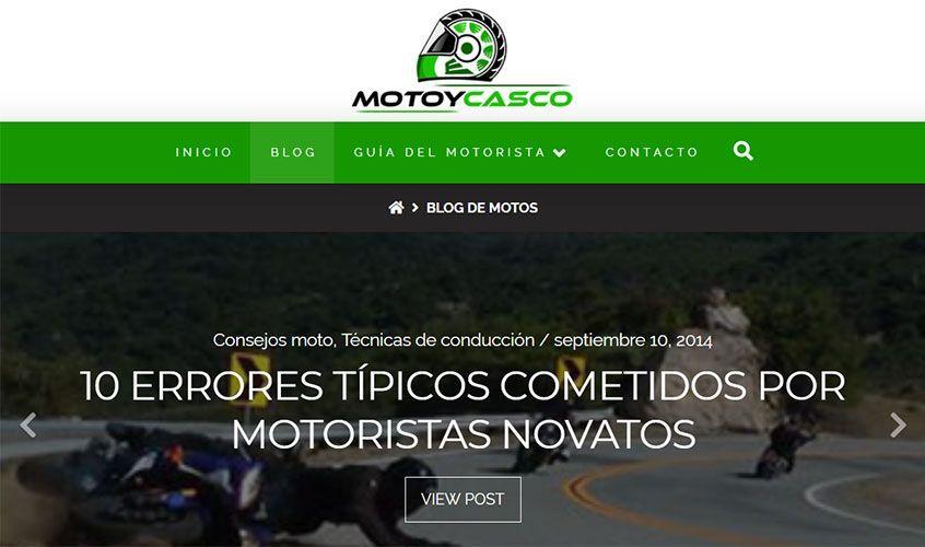 """Blog de motos """"MotoyCasco"""""""
