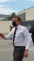 JUST IN - President #Macron slapped in the face during #France tour.