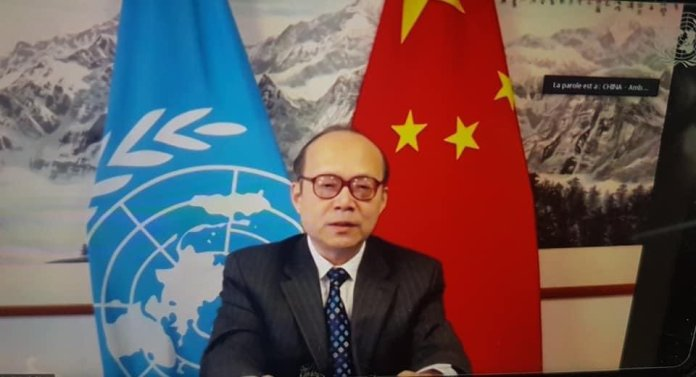 JUST IN - China at @UN_HRC calls #Myanmar situation