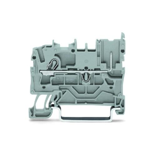 WAGO Prolazna klema - X-COM - 1-provodnik-1-Pin - noseća klema - za DIN 35 x 15 i 35 x 7.5 - za provodnik poprečnog preseka 2.5 mm2 - 2022-1201