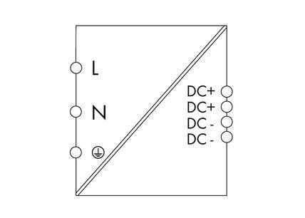 WAGO Svičersko (switched mode) napajanje - EPSITRON® ECO POWER - mono-fazno - 24 VDC / 2.5 A - 787-712
