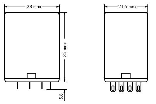 WAGO Priključni industrijski rele - 240 VAC - 858-151