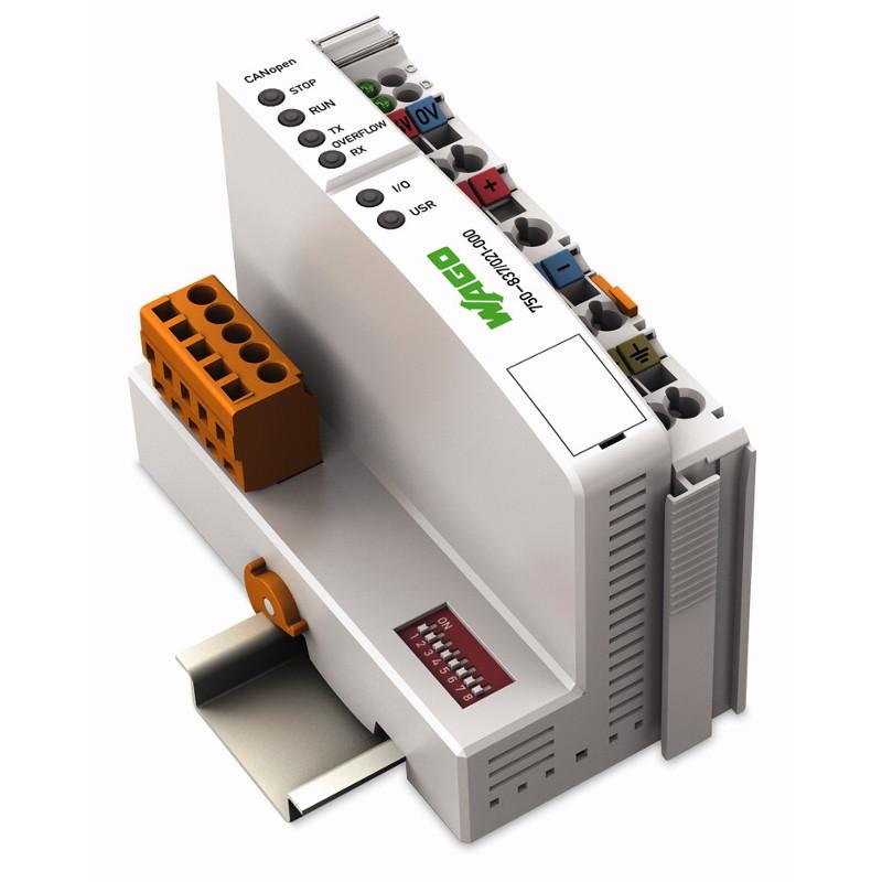 WAGO Kontroler CANopen - 640-832 KB Program-RAM - MCS - 750-837-021-000