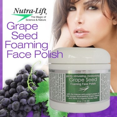 Nutra-Lift® Grapeseed Foaming Face Polish Product Image