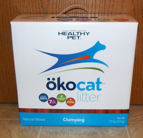 Okocat Natural Wood Clumping Litter Review Me Him And