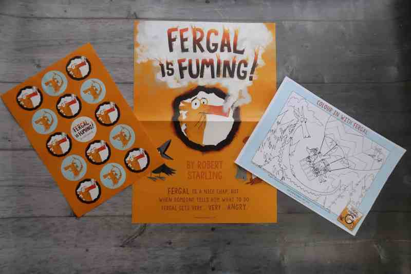 Fergal Is Fuming