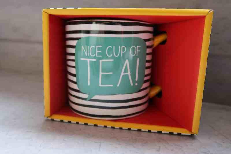 Nice Cup Of Tea MugHappy Jackson 'Nice Cup Of Tea' Mug